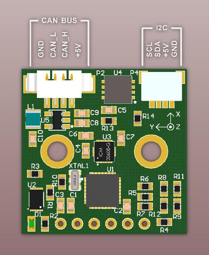 CAN IMU : BaseCam Electronics
