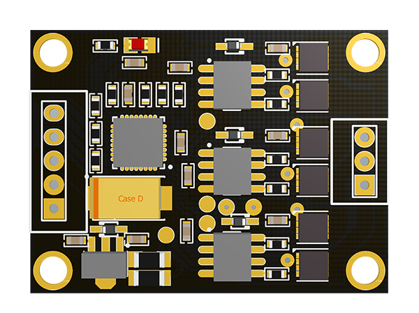 BaseCam SimpleBGC 3-axis discrete extended board